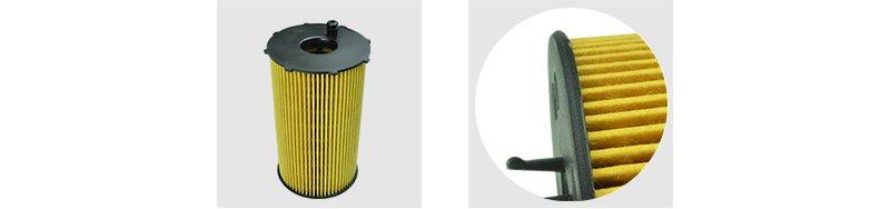 Heat welding oil filter