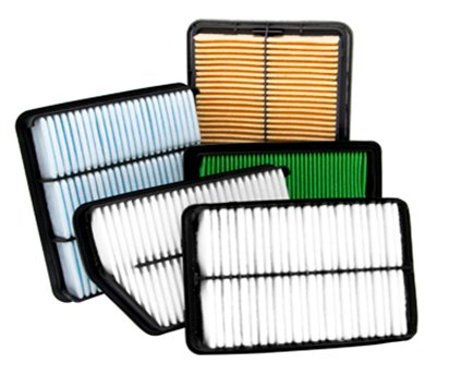 PP injection molding air filter