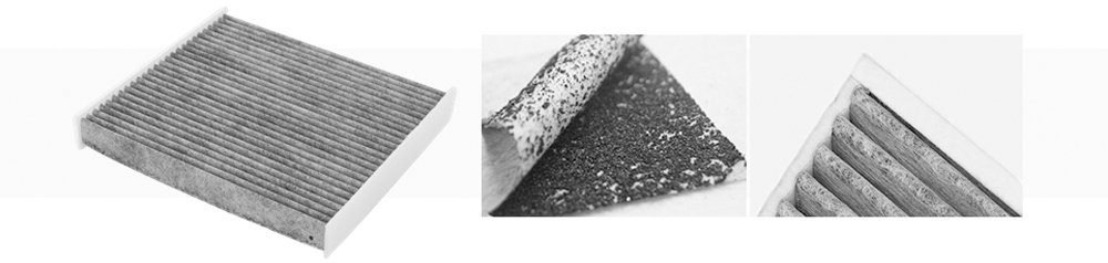 active carbon cabin filters material