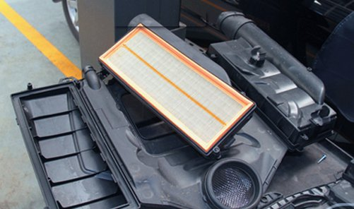 car air filter replacement