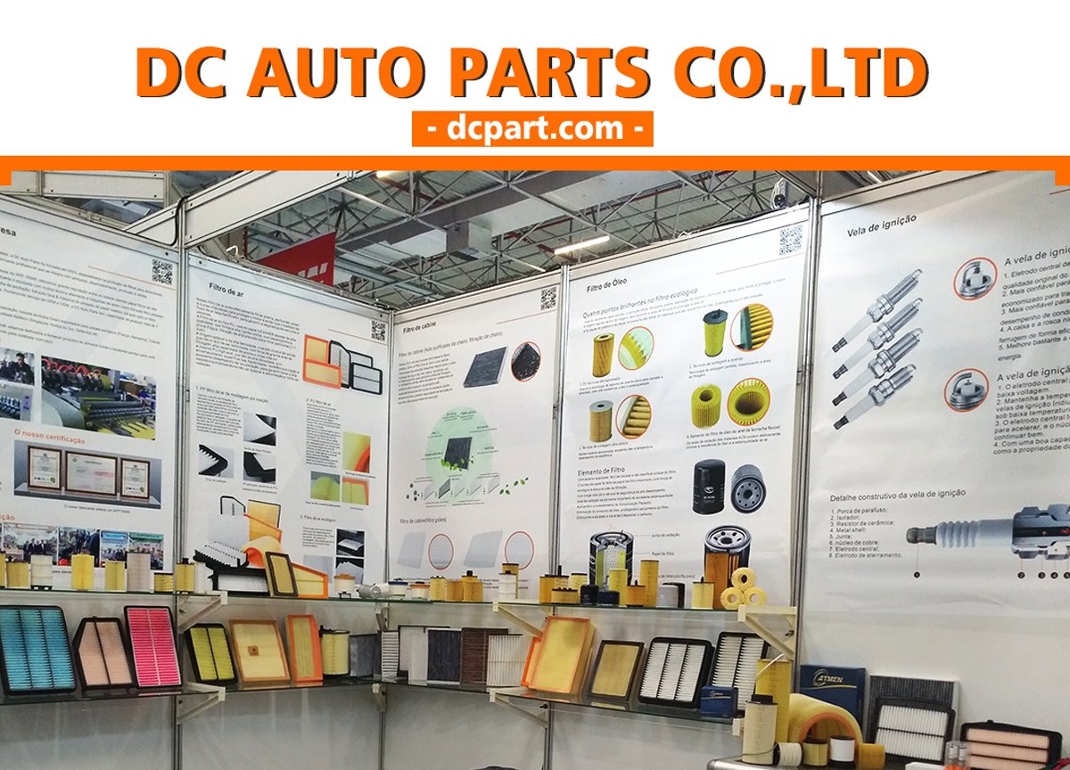 dc auto parts participate the automec exhibition
